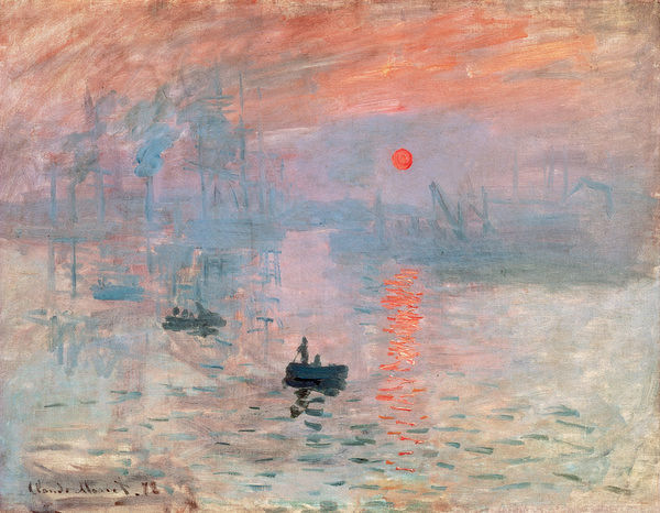 Claude Monet (1840 1926). Impression, Sunrise (Impression