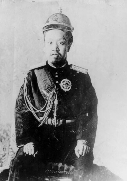 Prince Imperial Ui, the Prince Imperial of Korea, (1877 - 1955) fifth son of Emperor Gwangmu of Korea. He could not become the Crown Prince, even though he was older than his brother Prince Imperial Yeong, because the Japanese government disliked his rebellious nature