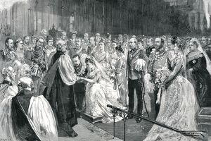 royal weddings/royal wedding hells belles/royal wedding 1891 marriage ceremony st georges