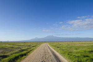 new/20191004 jai 5/road mount kilimanjaro road amboseli national park